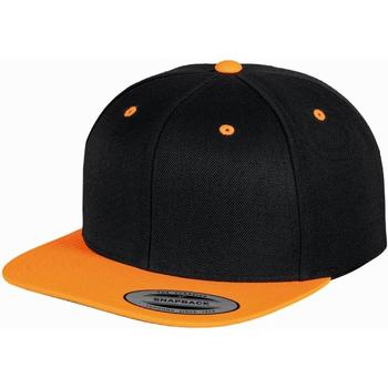 Accesorios textil Gorra Yupoong  Negro/Naranja Neón