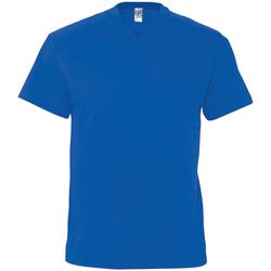 textil Hombre Camisetas manga corta Sols 11150 Azul eléctrico