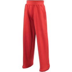 textil Niños Pantalones de chándal Awdis  Rojo intenso
