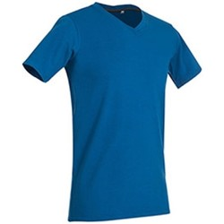 textil Hombre Camisetas manga corta Stedman Stars Clive Azul Rey