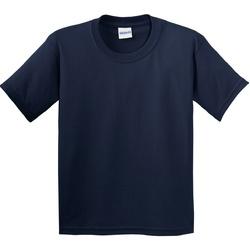 textil Niños Camisetas manga corta Gildan 64000B Azul marino