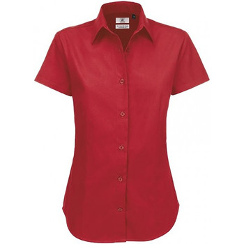 textil Mujer Camisas B And C SWT84 Burdeos