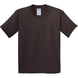 textil Niños Camisetas manga corta Gildan 5000B Marrón chocolate