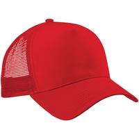 Accesorios textil Gorra Beechfield B640 Rojo/Rojo