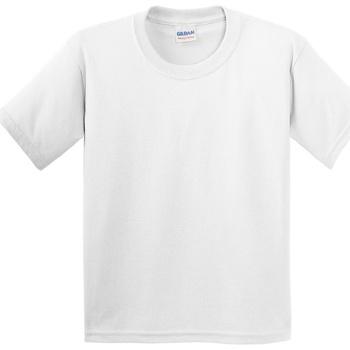 textil Niños Camisetas manga corta Gildan 5000B Blanco