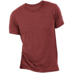 textil Hombre Camisetas manga corta Bella + Canvas CA3413 Cardinal Triblend