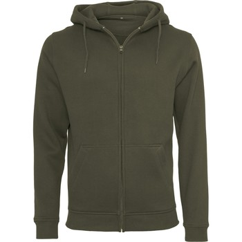 textil Hombre Sudaderas Build Your Brand BY012 Oliva