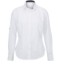 textil Mujer Camisas Alexandra AX060 Blanco/Negro