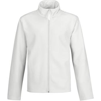 textil Hombre Chaquetas de deporte B And C Two Layer Blanco/Blanco