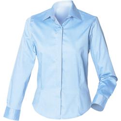 textil Mujer Camisas Henbury HB551 Azul claro