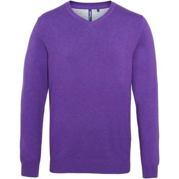 textil Hombre Jerséis Asquith & Fox AQ042 Morado
