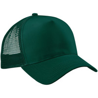 Accesorios textil Gorra Beechfield Trucker Verde botella/Verde botella
