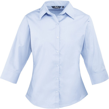 textil Mujer Camisas Premier Poplin Azul claro