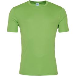 textil Hombre Camisetas manga corta Awdis JC020 Verde lima