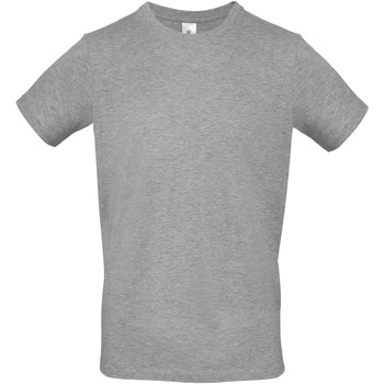 textil Hombre Camisetas manga corta B And C TU01T Gris Deportivo
