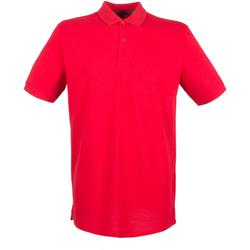 textil Hombre Polos manga corta Henbury HB101 Rojo Clásico