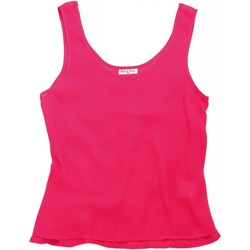 textil Mujer Camisetas sin mangas Brave Soul BS163 Rosa