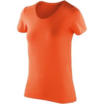 textil Mujer Camisetas manga corta Spiro S280F Mandarina