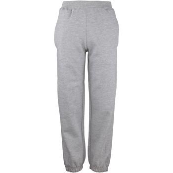 textil Niños Pantalones de chándal Awdis JH72J Gris