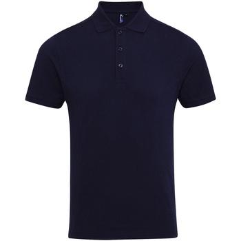 textil Hombre Polos manga corta Premier PR630 Azul marino
