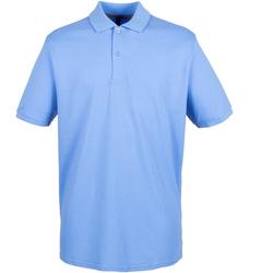 textil Hombre Polos manga corta Henbury HB101 Azul medio