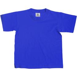 textil Niños Camisetas manga corta B And C TK300 Azul