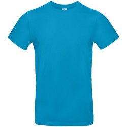 textil Hombre Camisetas manga corta B And C TU03T Azul atoll