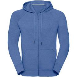 textil Hombre Sudaderas Russell J284M Azul Moteado