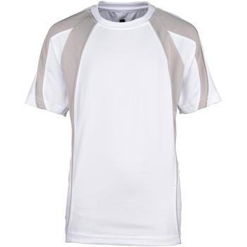 textil Niño Camisetas manga corta Rhino RH40B Blanco/Gris