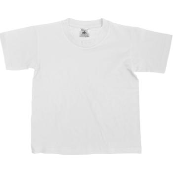 textil Niños Camisetas manga corta B And C TK300 Blanco
