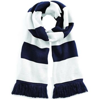 Accesorios textil Bufanda Beechfield B479 Marino francés / Blanco