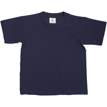 textil Niños Camisetas manga corta B And C Exact Azul real
