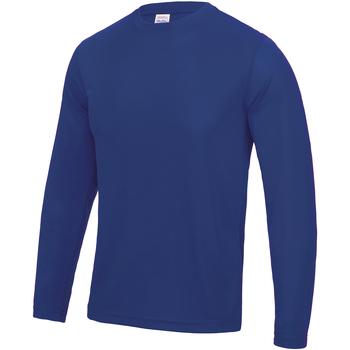 textil Hombre Camisetas manga larga Awdis JC002 Azul eléctrico
