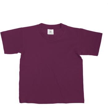 textil Niños Camisetas manga corta B And C Exact Vino