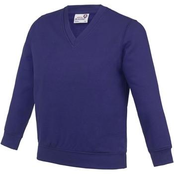 textil Niños Sudaderas Awdis  Púrpura