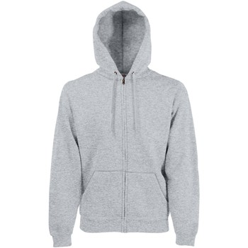textil Hombre Sudaderas Fruit Of The Loom SS822 Gris