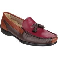 Zapatos Mujer Mocasín Cotswold  Marrón/vino