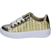 Zapatos Mujer Zapatillas bajas Lancetti sneakers textil oro