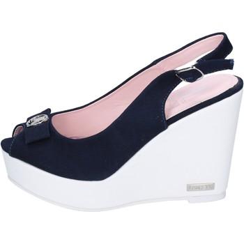 Zapatos Mujer Sandalias Lancetti sandalias lona azul