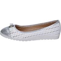 Zapatos Mujer Bailarinas-manoletinas Lancetti bailarinas cuero sintético blanco