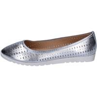Zapatos Mujer Bailarinas-manoletinas Lancetti bailarinas cuero sintético plata