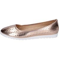 Zapatos Mujer Bailarinas-manoletinas Lancetti bailarinas cuero sintético bronce
