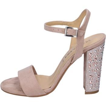Zapatos Mujer Sandalias Olga Rubini sandalias gamuza sintética rosa