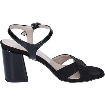 Zapatos Mujer Sandalias Lady Soft sandalias gamuza sintética negro
