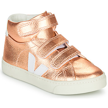 Zapatos Niña Zapatillas altas Veja SMALL-ESPLAR-MID Rosa