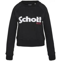 textil Mujer Sudaderas Schott Sweatshirt SW GINGER 1 W Noir Negro