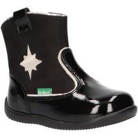 Zapatos Niños Botas de caña baja Kickers 735121-10 BIBOOTS Negro
