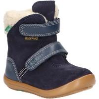 Zapatos Niño Botas de nieve Kickers 735731-10 KIRI WPF Azul