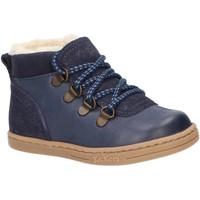 Zapatos Niño Botas de nieve Kickers 735780-10 TATTOO Azul