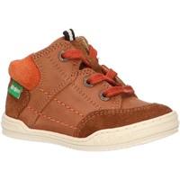 Zapatos Niños Botas de caña baja Kickers 735800-10 JAD Marr?n